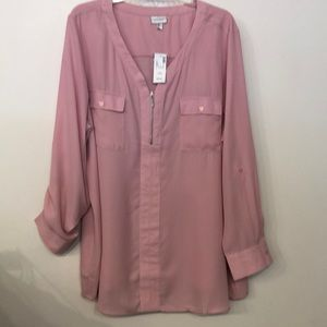 Avenue Pink Top size 22/24